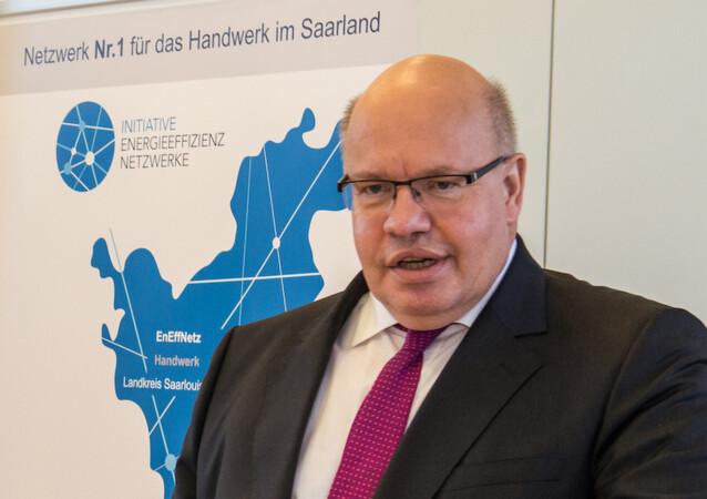Bundeswirtschaftsminister Peter Altmaier, hier bei einer Veranstaltung der HWK des Saarlandes, hat die Pläne für eine Unternehmenssteuerreform konkretisiert. Foto: © Peter Kerkrath