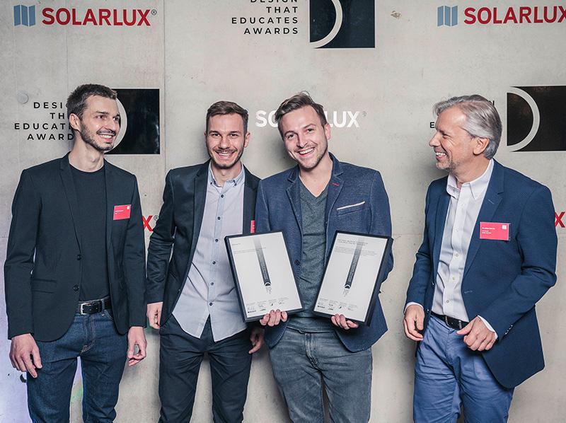 """Bei der Preisverleihung des """"Design that educates Awards"""" wurden unter anderem das Büro KWK Promes mit dem 'Nationalmuseum in Stettin' und dem 'Unikato' in Kattowitz ausgezeichnet. Foto: © Solarlux"""