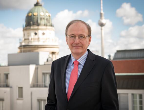 Reinhard Quast Präsident des Zentralverbands Deutsches Baugewerbe. Foto: © ZDB/Pflug