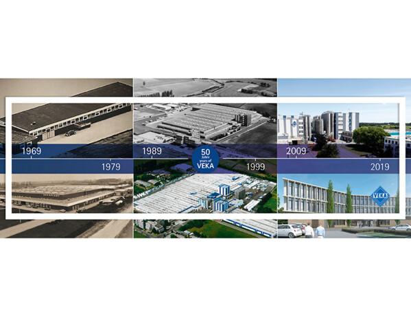 Das Unternehmen im Wandel der vergangenen 50 Jahre. Foto: © Veka