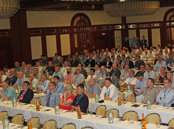 Eine konzentrierte Zuhörerschaft verfolgte die vielseitigen Vorträge beim ift-Brandschutzforum 2019 in Nürnberg. Foto: © ift Rosenheim