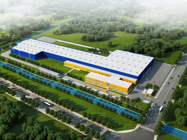 Der neue Standort in Changshu dient zur Ausweitung der Produktion von Stahlblechtüren für den südchinesischen Markt. Neben China investiert Hörmann am Standort Sparta in Tennessee auch in den amerikanischen Markt. Foto: © Hörmann