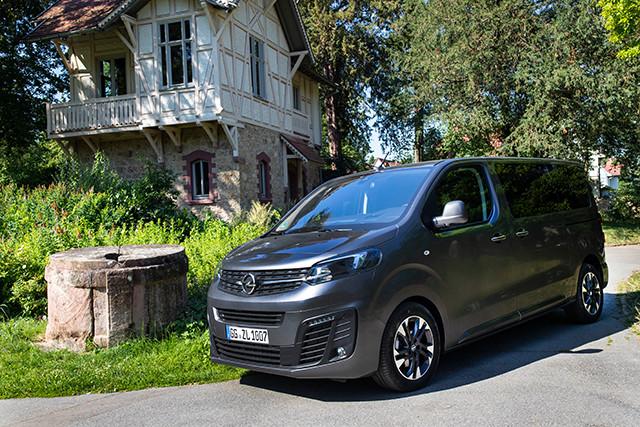 Der Opel Zafira Life - verbrauchsarmer Familien-Van Foto: © Helmut Weipert