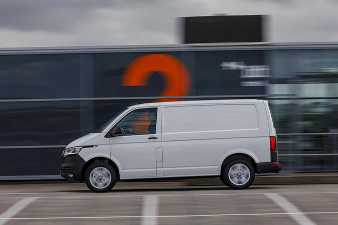 Der neue VW T6.1, Seitenansicht Foto: © VW Nutzfahrzeuge