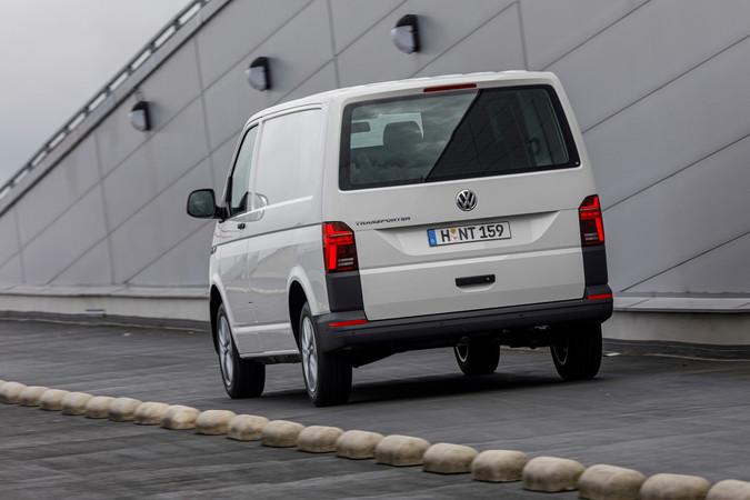 Der neue VW T6.1, Heckansicht Foto: © VW Nutzfahrzeuge