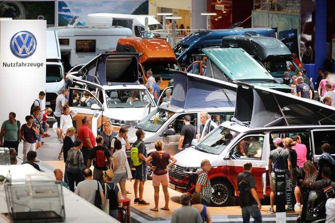 Premiere für viele Innovationen wie der VW 6.1 California Foto: © Messe Düsseldorf/ctillmann