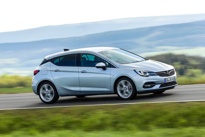 Der neue Opel Astra, hier der 5-Türer Foto: © Opel
