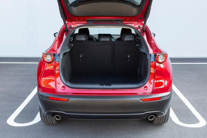 430 Liter passen in den Kofferraum des neuen CX-30 Foto: © Mazda