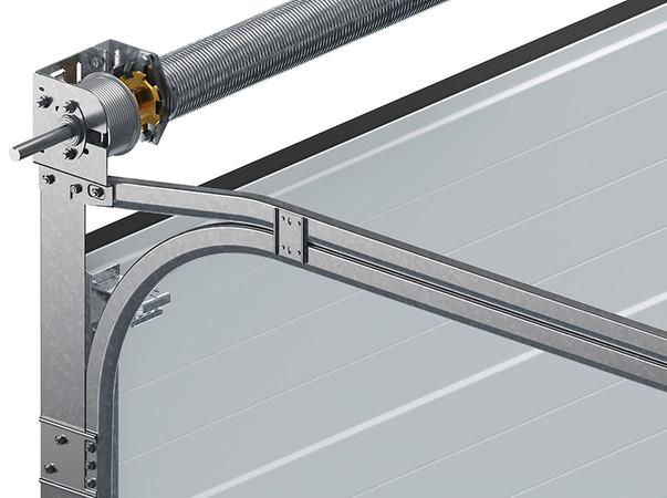 Aus hochfestem, zwei Millimeter dickem Blech gefertigt, lassen sich die Laufschienen und Zargen solide montieren. Foto: © Wiśniowski