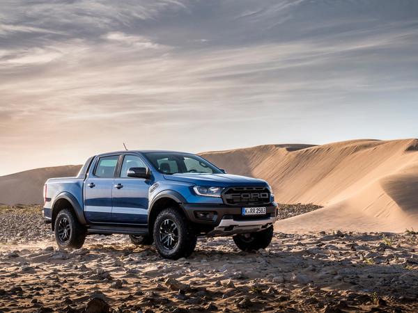 Beim Ford Ranger reicht ein Knopfdruck, um aus 6 Fahrmodi das passende Programm für das Gelände auszusuchen. Foto: © Ford