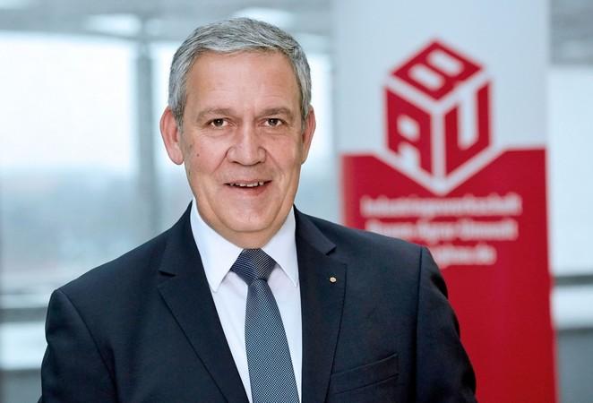 Robert Feiger, Verhandlungsführer der IG BAU Foto: © IG BAU (Alexander Paul Englert)