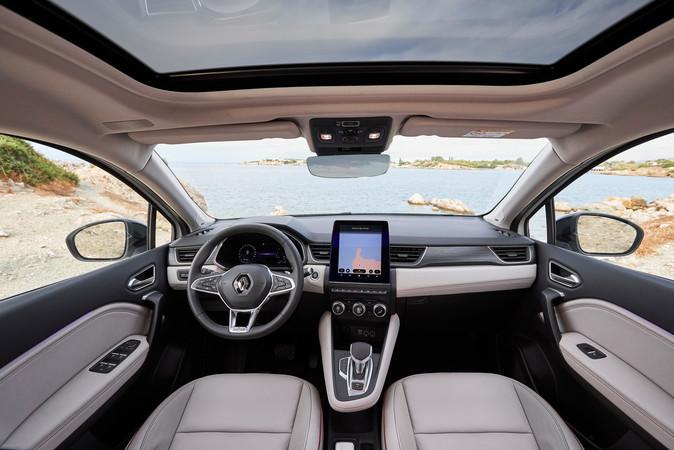 Bei den Assistenzsystemen haben die Franzosen ordentlich zugelegt und den Captur mit allem ausgestattet, was der Markt hergibt. Foto: © Renault