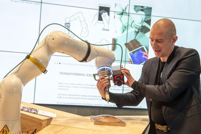 Die Digitalisierung im Handwerk steht im Fokus der Internationalen Handwerksmesse in München. Foto: © GHM