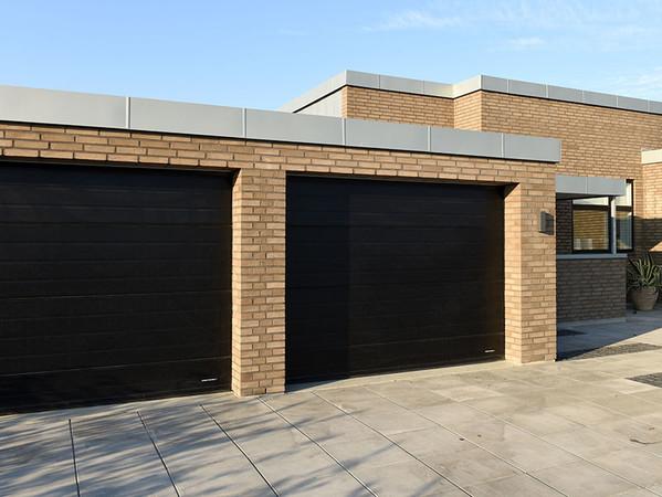 Die Tore sind auch für Projekte nach Maßstäben der Deutschen Gesellschaft für nachhaltiges Bauen geeignet. Foto: © Lindab