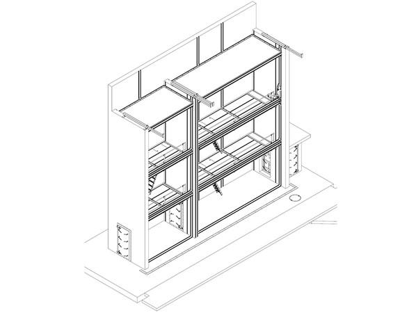 """Die Prüfstände im ift-Labor """"Bauakustik +Fassaden"""" werden von der ift MessTec geplant, gefertigt und montiert – hier der Fassadenprüfstand. Foto: © ift Rosenheim"""