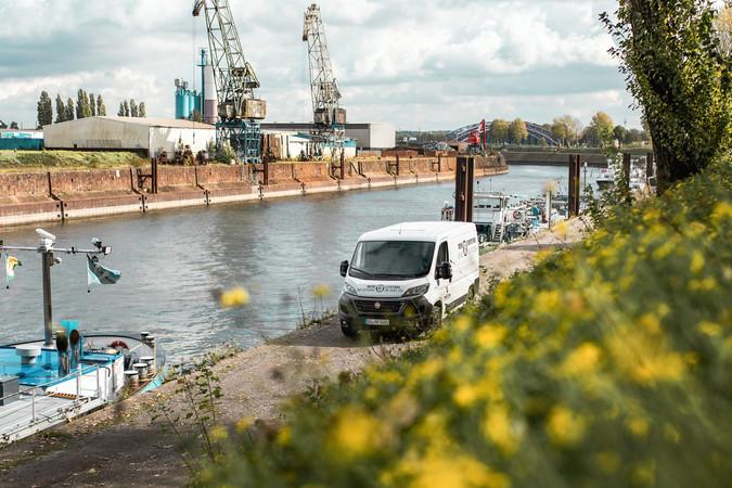 Mit dem Fiat Ducato quer durchs Ruhrgebiet - unsere Profi-Tour-de-Ruhr Foto: © Lukas Grabowsky