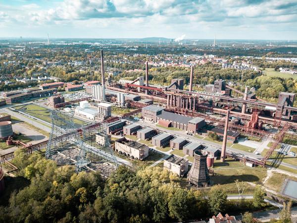 Der Landschaftspark Duisburg-Nord Foto: © Lukas Grabowsky