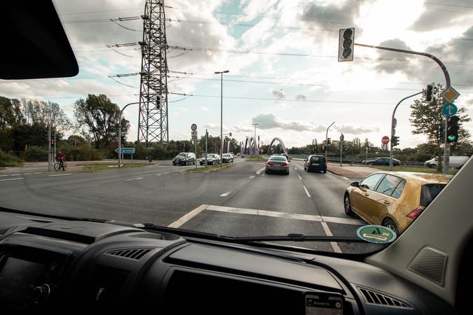 Das Ruhrgebiet - unendliche Straßen Foto: © Lukas Grabowsky