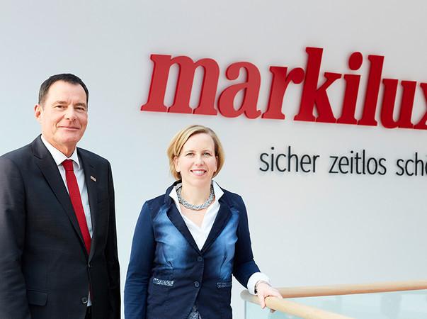 Um das internationale Geschäft auszubauen, ist Präsenz vor Ort notwendig - davon sind Christiane Berning und Klaus Wuchner überzeugt. Foto: © Markilux