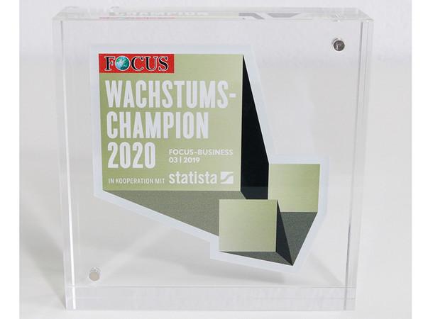 Auszeichnung des Nachrichtenmagazins FOCUS. Foto: © fensterblick.de