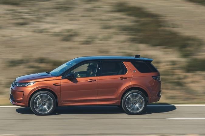 Der Land Rover Discovery Sport steht auf einer neuen Plattform. Foto: © Land Rover