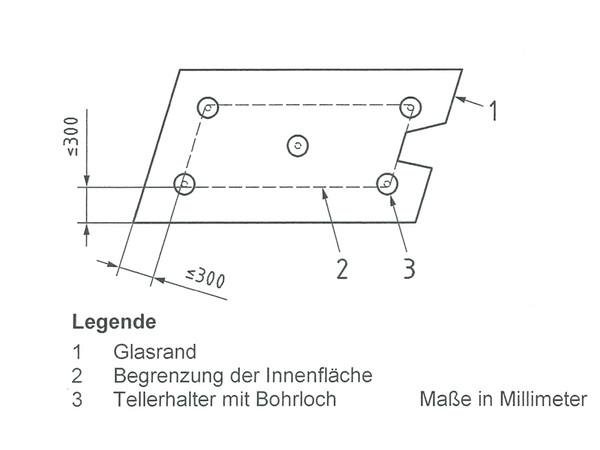 Bild 2: Innenfläche bei Horizontalverglasung Foto: © Institut für Verglasungstechnik und Fensterbau e.V. / Stefan Wolter
