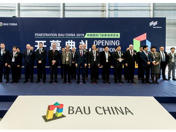 Die BAU China ist immer eng am Puls der Zeit und eine attraktive Schau zukunftsweisender Ideen, Konzepte und Lösungen im Baubereich, so Staatsminister Hubert Aiwanger bei der Eröffnung der Messe. Foto: © Messe München/picture alliance/Zhou