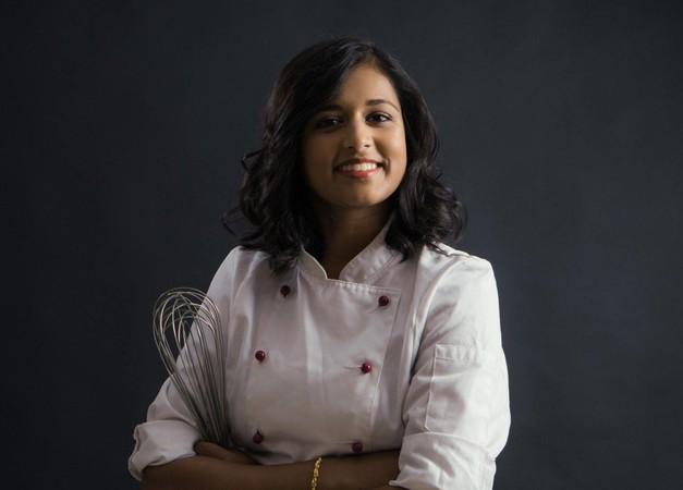 Authentische Markenbotschafterin: Konditoren- und Bäckermeisterin Priyanka Balomohan, Miss Handwerk 2019. Foto: © Werbefotografie Weiss
