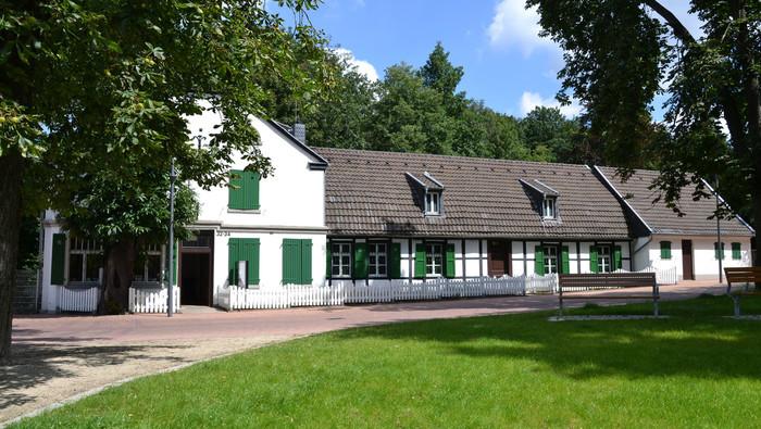 St.-Antony-Hütte mit dem Direktorenhaus in Oberhausen, hier entstand 1758 die erste Eisenhütte Foto: © LVR-Industriemuseum