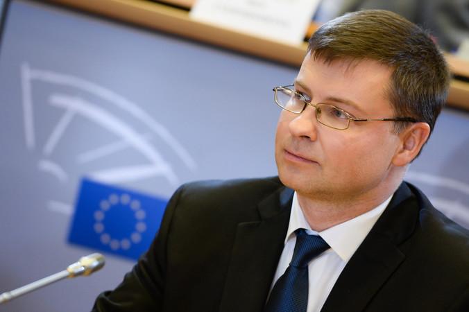 Valdis Dombrovskis Foto: © EU