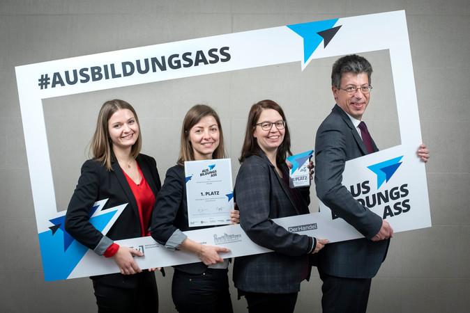 Das Gewinner-Team der SchwörerHaus KG Foto: © Janine Schmitz/photothek.net