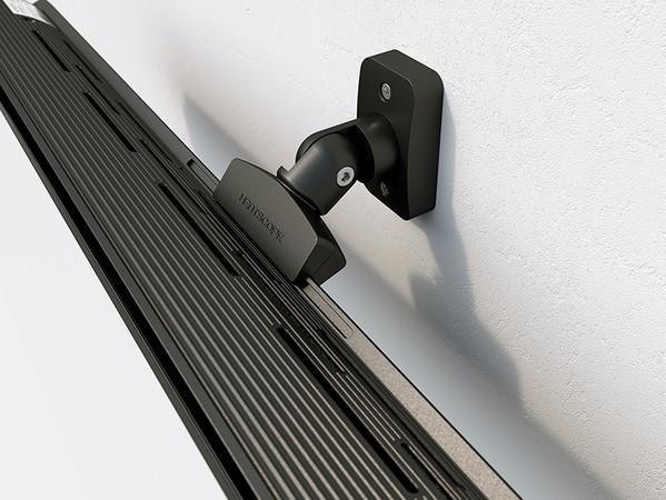 Der Strahler kann ohne zusätzlichen Schutz im Freien installiert werden. Foto: © Heatscope