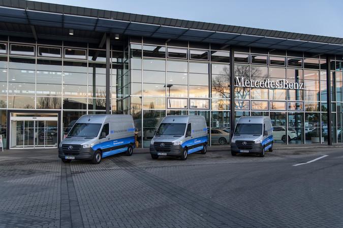 Der neue eSprinter Foto: © Mercedes-Benz