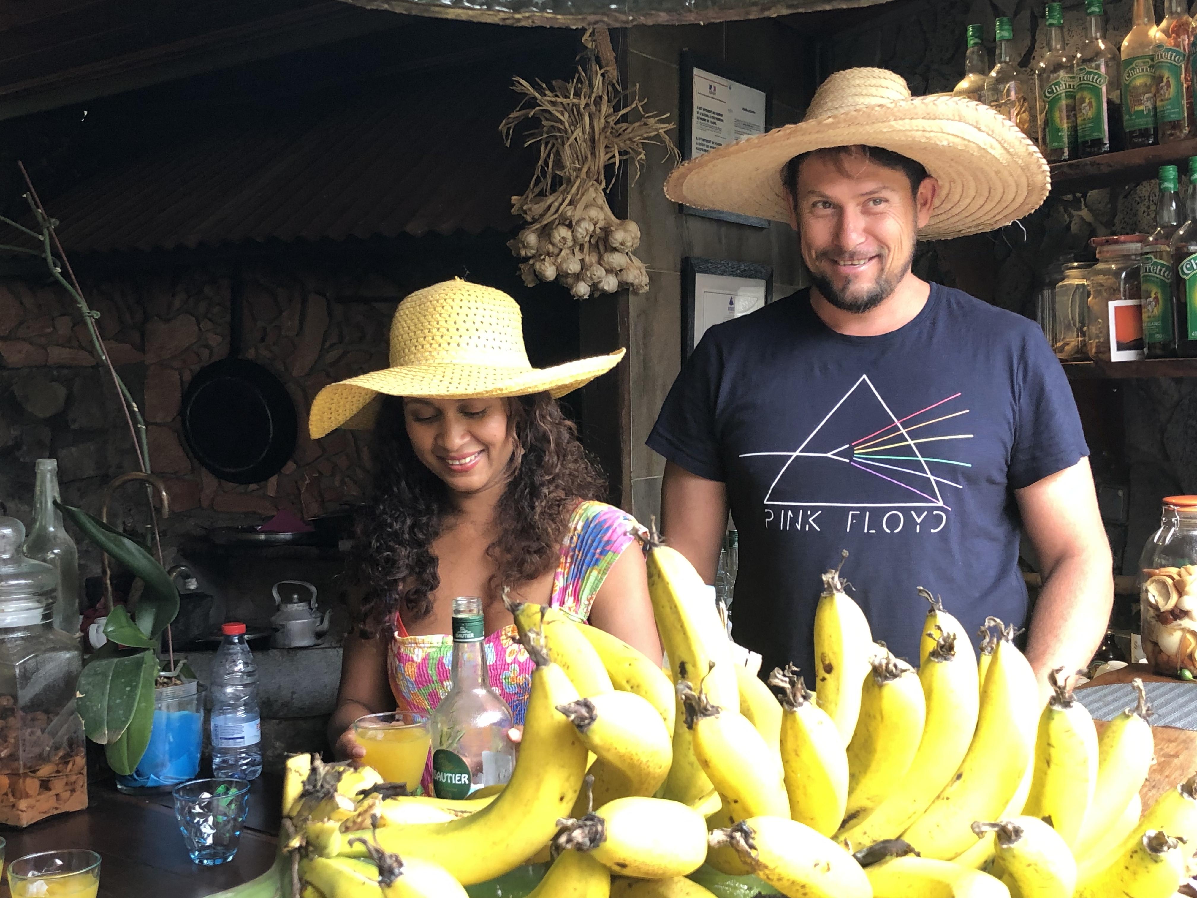 Mickael Gonthier und seiner Frau Raymonda laden ein in die Pension und das Restaurant Le Tapacala Foto: © DHB