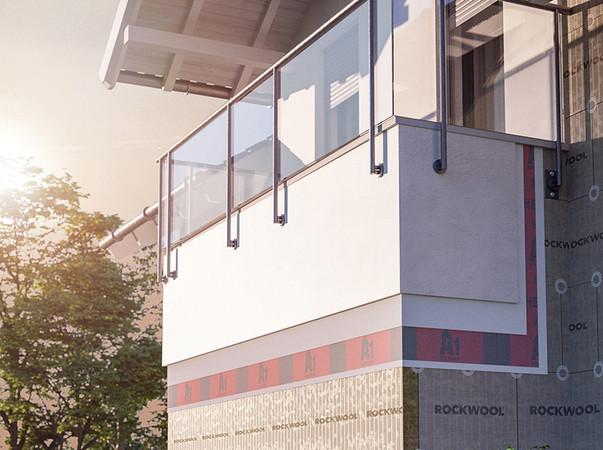 Immer mehr Maler und Stuckateure empfehlen Immobilienbesitzern und Investoren WDVS mit Steinwolle. Aus seiner Sicht der Heck Wall Systems GmbH gibt kein anderer Dämmstoff so viele Antworten auf heutige und zukünftige Fragen des Bauens. Foto: © Heck Wall Systems