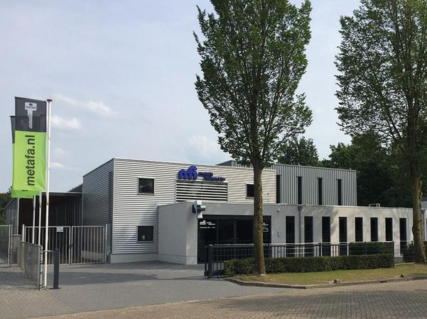 Der Unternehmenssitz von Metafa in der Nähe der niederländische Metropole Eindhoven. An diesem Standort werden auch in Zukunft die Mitarbeiter unter dem Dach von Abus Niederlande arbeiten. Foto: © Abus