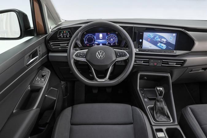 Der neue Caddy 2020 von Volkswagen Nutzfahrzeuge mit digitalem Cockpit Foto: © VW Nfz/Hennig Scheffen