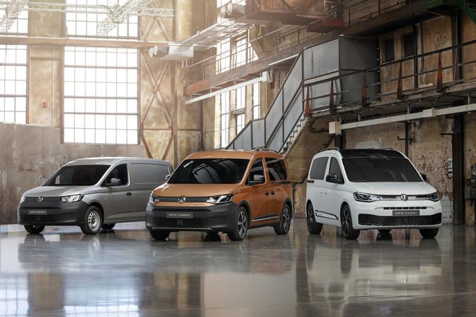 Der neue Caddy 2020 von Volkswagen Nutzfahrzeuge Foto: © VW Nfz/Hennig Scheffen