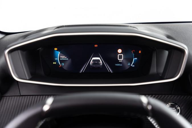 Bei der 3D-Darstellung werden alle wichtigsten Informationen hervorgehoben. Foto: © Peugeot