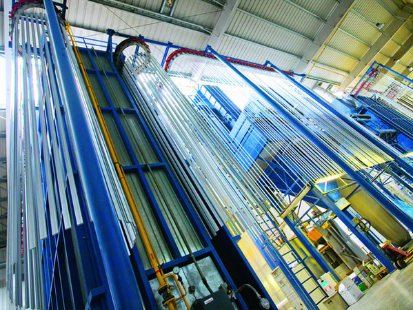 Die Verfügbarkeit eigener Produktionsanlagen von führenden europäischen Anbietern, Vollautomatisierung der Prozesse und sorgfältige Qualitätskontrolle auf allen Etappen ermöglichen beeindruckende Leistungen aller Produktionswerke. Foto: © Alutech