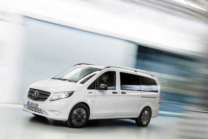 Der elektrische Kleinbus präsentiert sich stark verbessert. Foto: © Mercedes-Benz