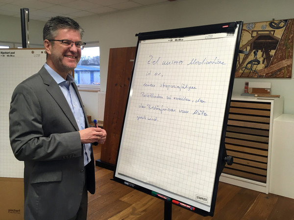 Rainer Kirschbaum ist Unternehmer, vereidigter Sachverständiger und Mediator Foto: © Kirsten Freund / DHB