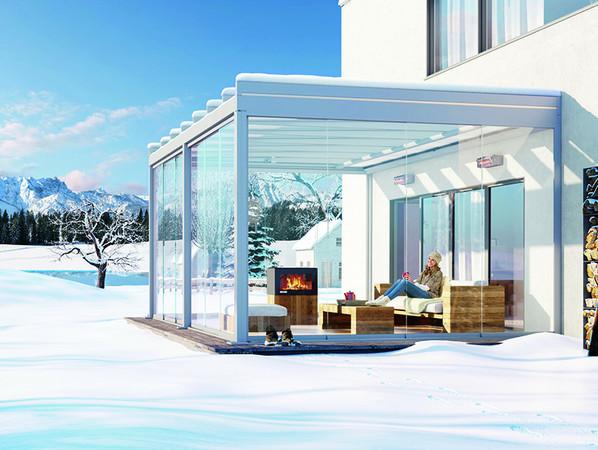 Bestnoten in Sachen zufriedene Kunden: Weinor mit ungedämmtem Wintergarten-System Glasoase. Foto: © Weinor GmbH & Co. KG