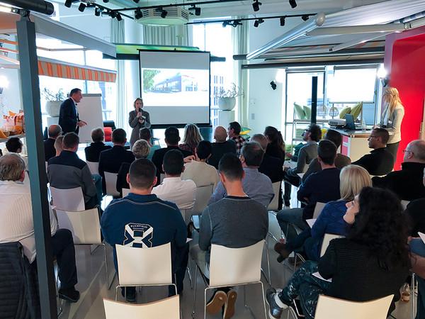 Die Veranstaltung war besonders gut besucht und hat für viel positive Resonanz gesorgt. Foto: © Markilux