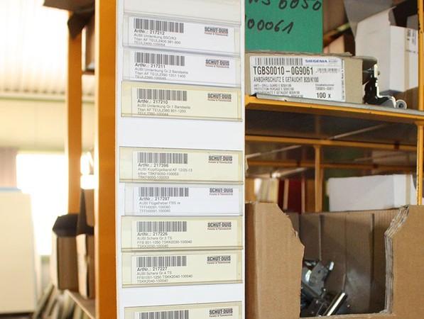 Die Barcodes sorgen für eine gute Übersicht und einen schnellen Bestellprozess. Foto: © Schüt-Duis