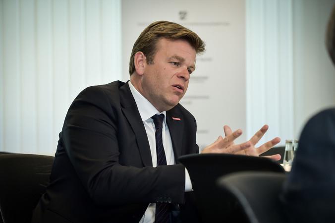 Außenwirtschaft ist ein Zukunftsthema für das Handwerk, sagt Matthias Heidmeier, Hauptgeschäftsführer des WHKT und der LGH. Foto: © WHKT