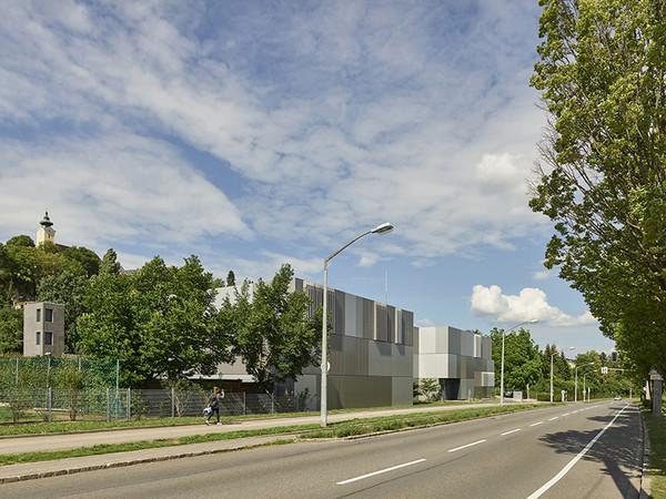1. Preis 2018: Architekt: archinauten/dworschak+mühlbachler architekten zt gmbh, A-4040 Linz. Projekt: Feuerwache Nord – Linz. Foto: © Kurt Hörbst