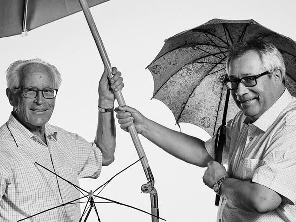 Ende der 1980er Jahre hat Dölf Glatz (l.) seinem Sohn Markus das Zepter in die Hand gegeben. Foto: © Glatz AG