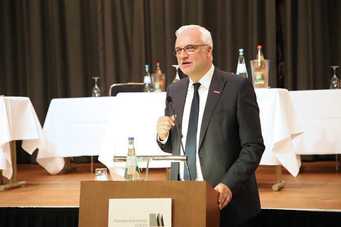 Garrelt Duin, Hauptgeschäftsführer der Handwerkskammer zu Köln Foto: © Arne Schröder / Handwerkskammer zu Köln