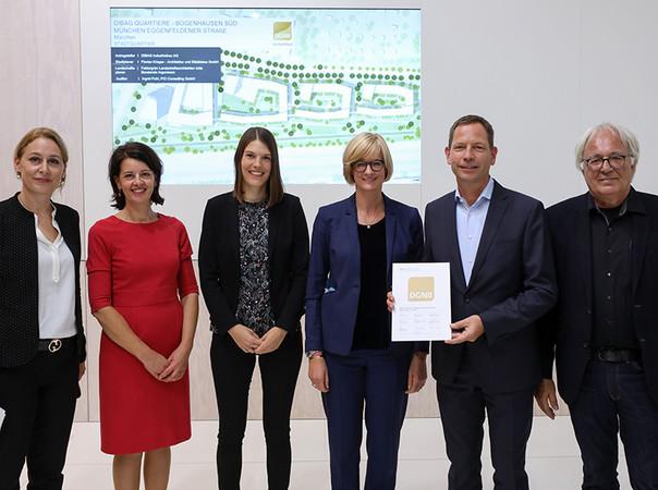 Seit 2012 zertifiziert die DGNB nachhaltige Quartiere. Foto: © DGNB